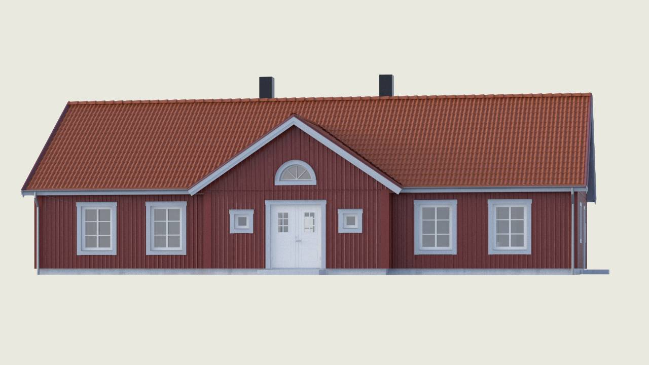 Bygg din egen Herrgården - traditionell stil från Myresjöhus