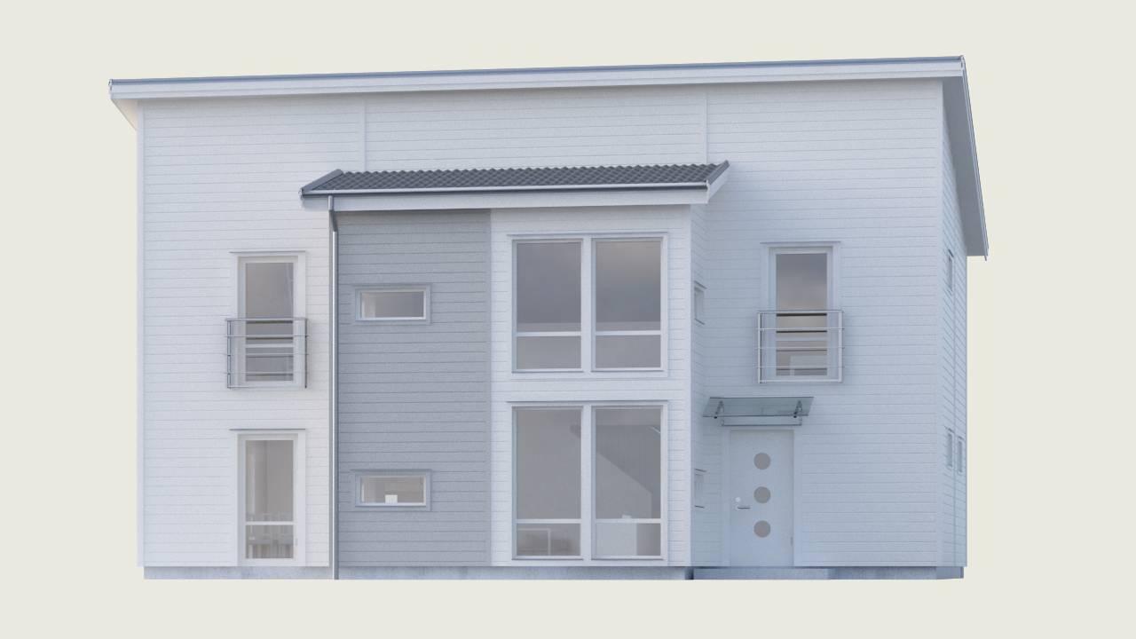 Allegro med stora fönster och 5 meter takhöjd - Myresjöhus