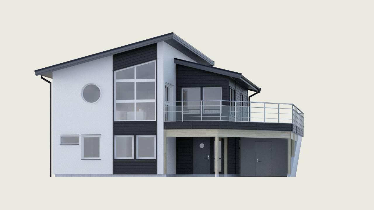 Collina frÃ¥n Myresjöhus - Effektivt planerat sluttningshus : köpa nybyggt hus : Inredning